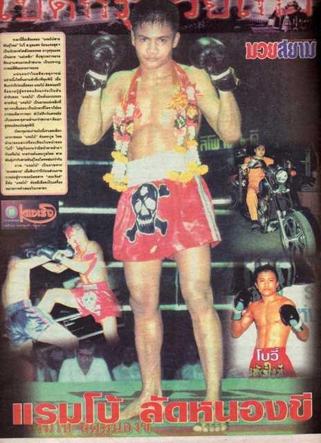 rambo muay thai fighter legend golden era