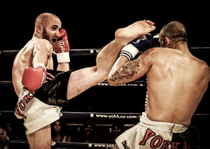 how to throw a muay thai roundhouse kick