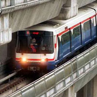 skytrain bangkok transportatio